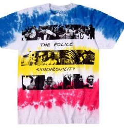 The Police Synchronicity Tie Dye T-Shirt