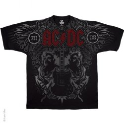 AC/DC Angus Duo Black T-Shirt