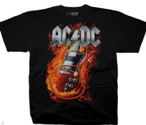 AC/DC Thunderstruck Black T-Shirt